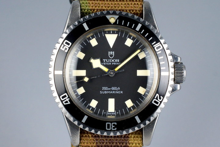 1968 Tudor Submariner 7016/0 Black Snowflake photo