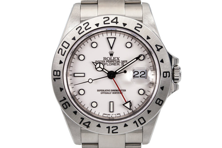 2001 Rolex Explorer II 16570 photo