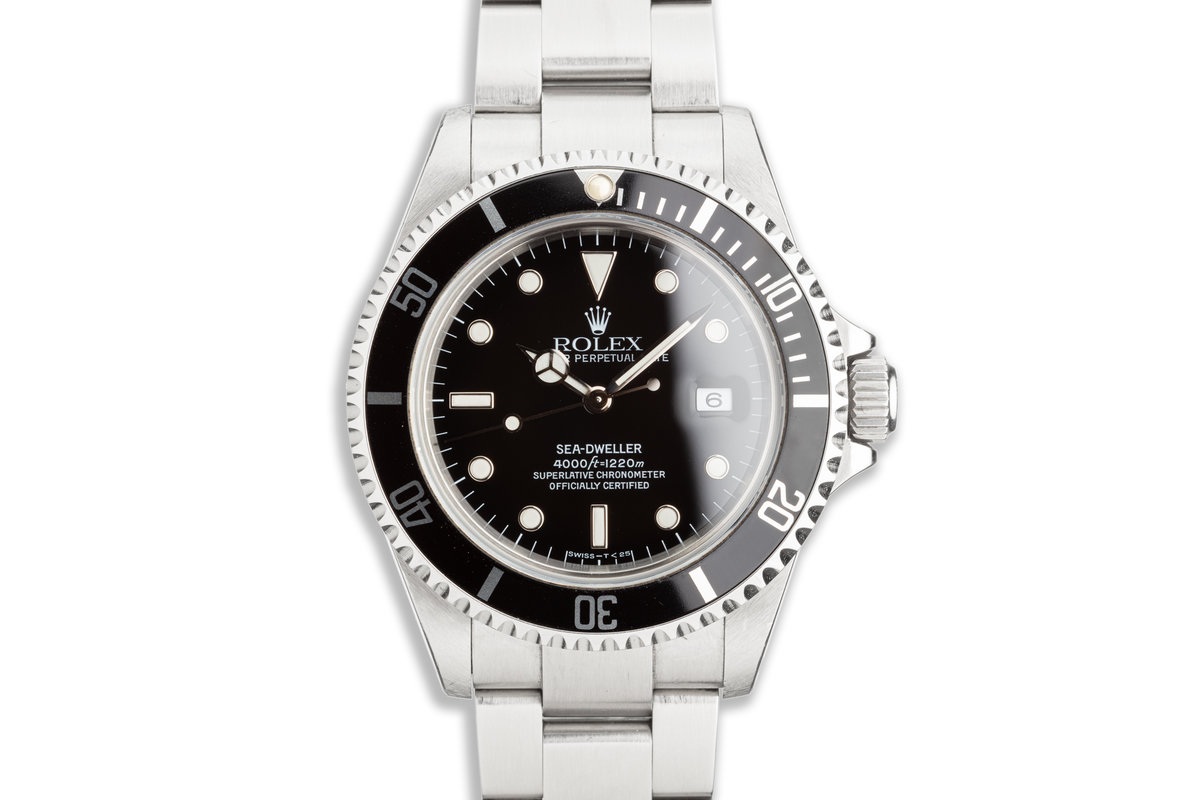 1999 Rolex Sea-Dweller 16600 with Box, Papers & Tool-Kit photo, #0