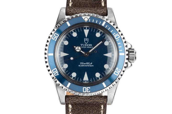 1985 Tudor Submariner 94010 Blue Dial photo