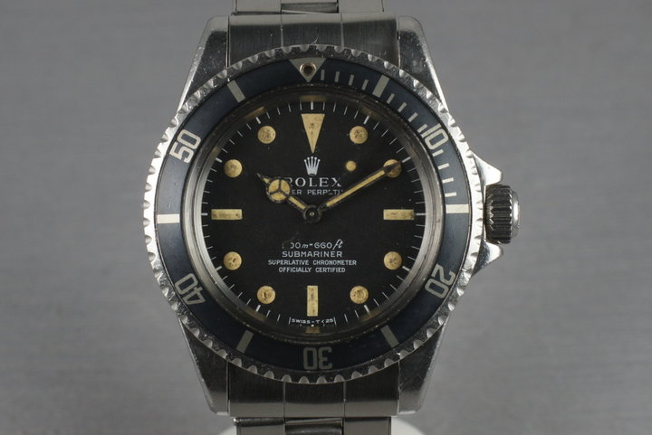 1966 Rolex Submariner 5512 with Meters First photo