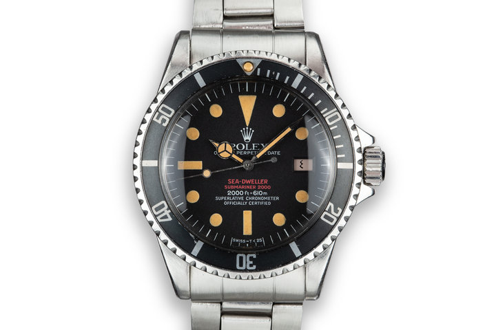 1972 Rolex Double Red Sea-Dweller 1665 MK IV Dial with Box and Papers photo