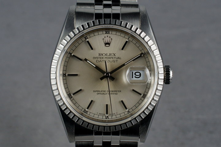 1996 Rolex DateJust 16220 with Guarantee Card photo