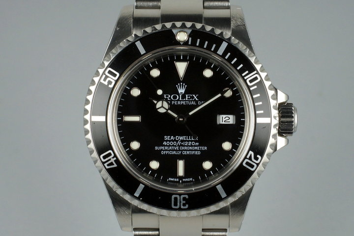 2000 Rolex Sea Dweller 16600 photo