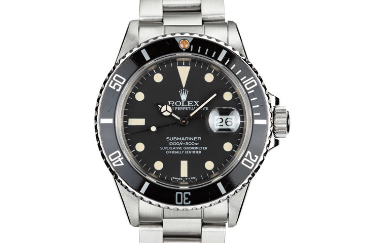 1981 Rolex Submariner 16800 Matte Dial photo