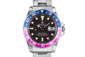 1966 Rolex GMT-Master 1675 with Fuchsia Bezel Insert photo