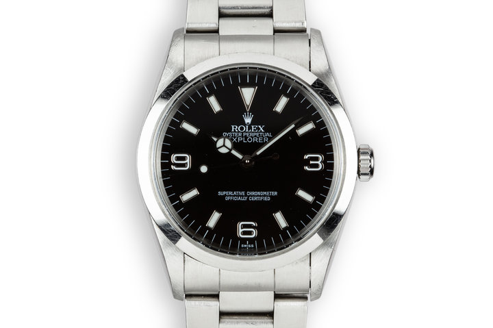 "1998 Rolex Explorer 14270 ""SWISS Only"" Dial photo"