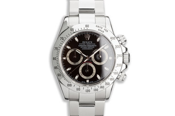 2009 Rolex Daytona 116520 Black Dial photo