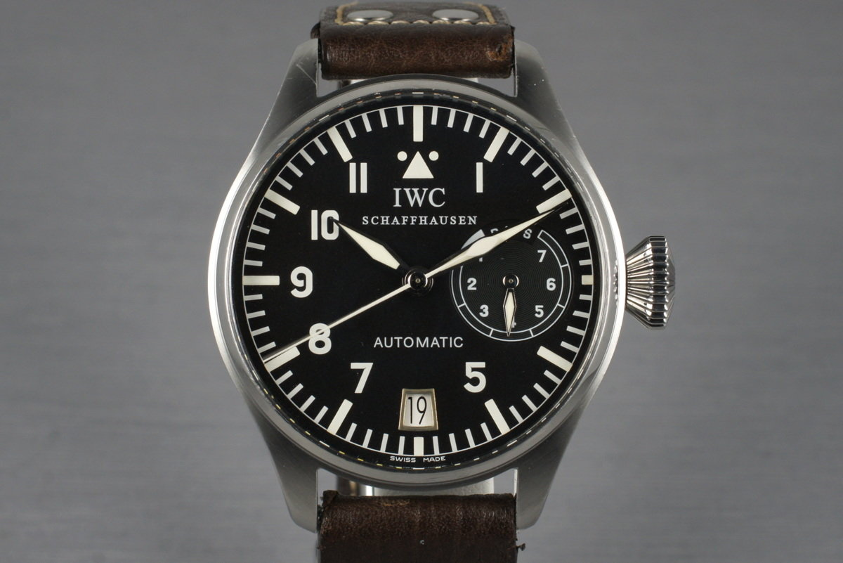 IWC Big Pilot IW5002 With Box and Papers photo, #0