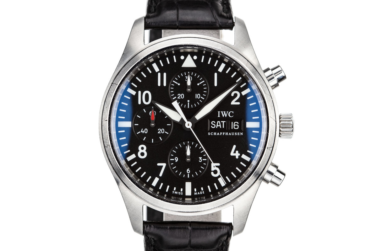 IWC Pilots Chronograph 3717.01 photo, #0