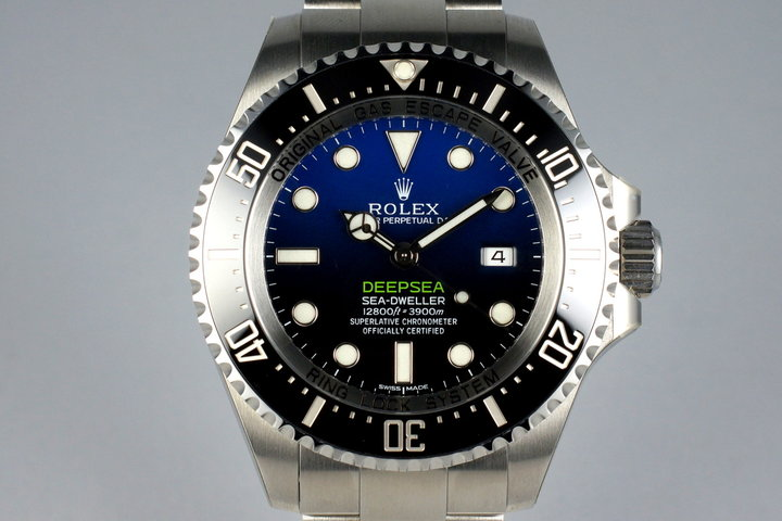 2015 Rolex Deep Sea Dweller 116660 with Box and Papers MINT photo