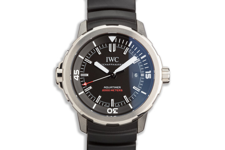 2019 IWC Aquatimer IW329101 with Box and Card photo