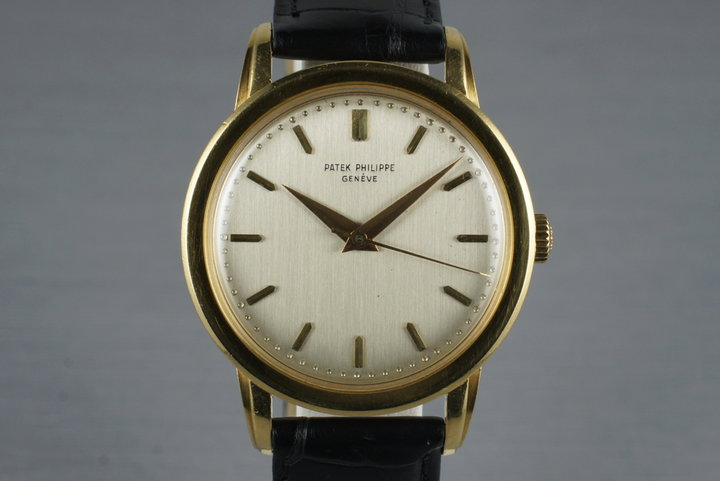 1959 18K YG Patek Philippe 2481 with Papers photo