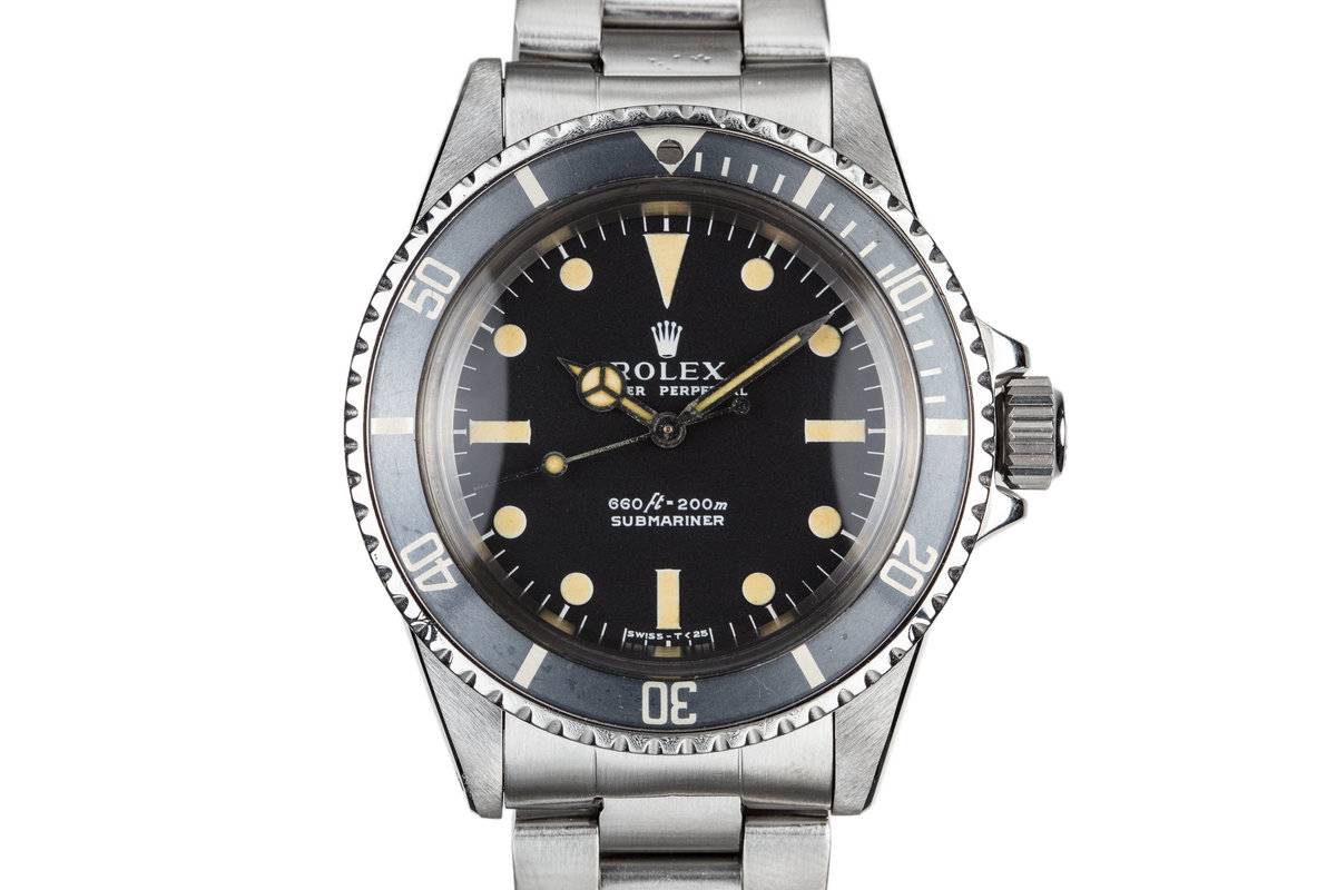 1974 Rolex Submariner 5513 with Serif Dial photo, #0