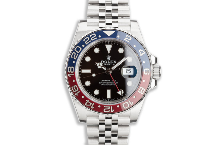 2018 Rolex GMT-Master II 126710BLRO Full stickers with Box and Card photo