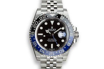 "2019 Rolex GMT-Master II 126710 BLNR ""Batman"" with Box and Papers photo"