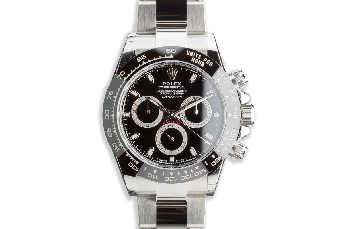 2020 Rolex Daytona 116500LN Black Dial with Box and Card photo, #0
