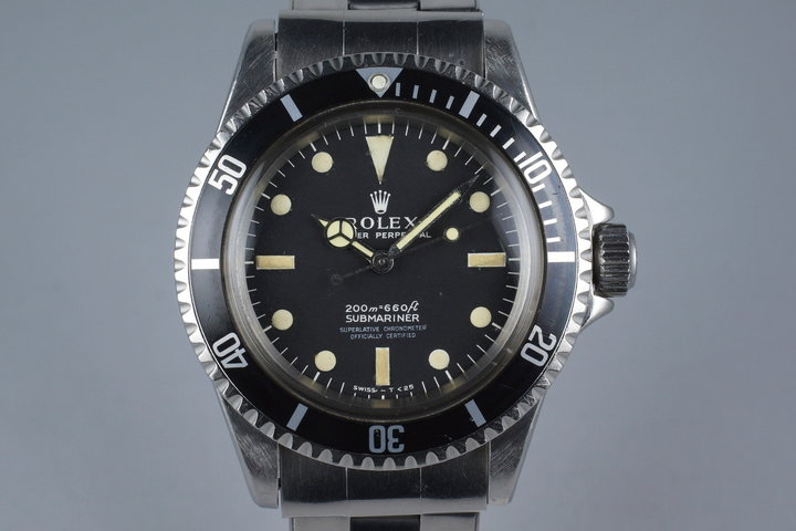 1966 Rolex Submariner 5512 4 Line Dial photo