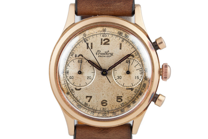 Breitling RG 2-Register Rose Gold Chronograph 777 photo