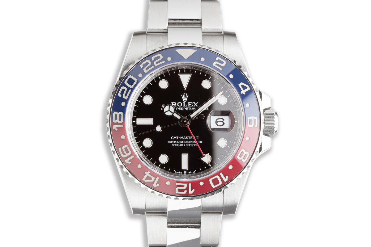 2021 40mm Rolex GMT-Master II 126710BLRO with Box & Card photo, #0