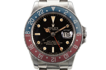 1965 Rolex GMT 1675 Glossy Gilt Dial photo