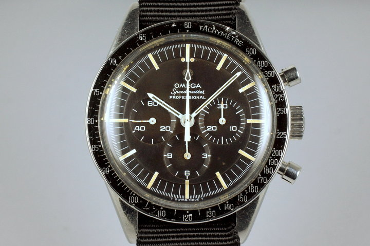1964 Omega Speedmaster 105.003 Pre-Moon 321 with Brown Tropical Dial photo