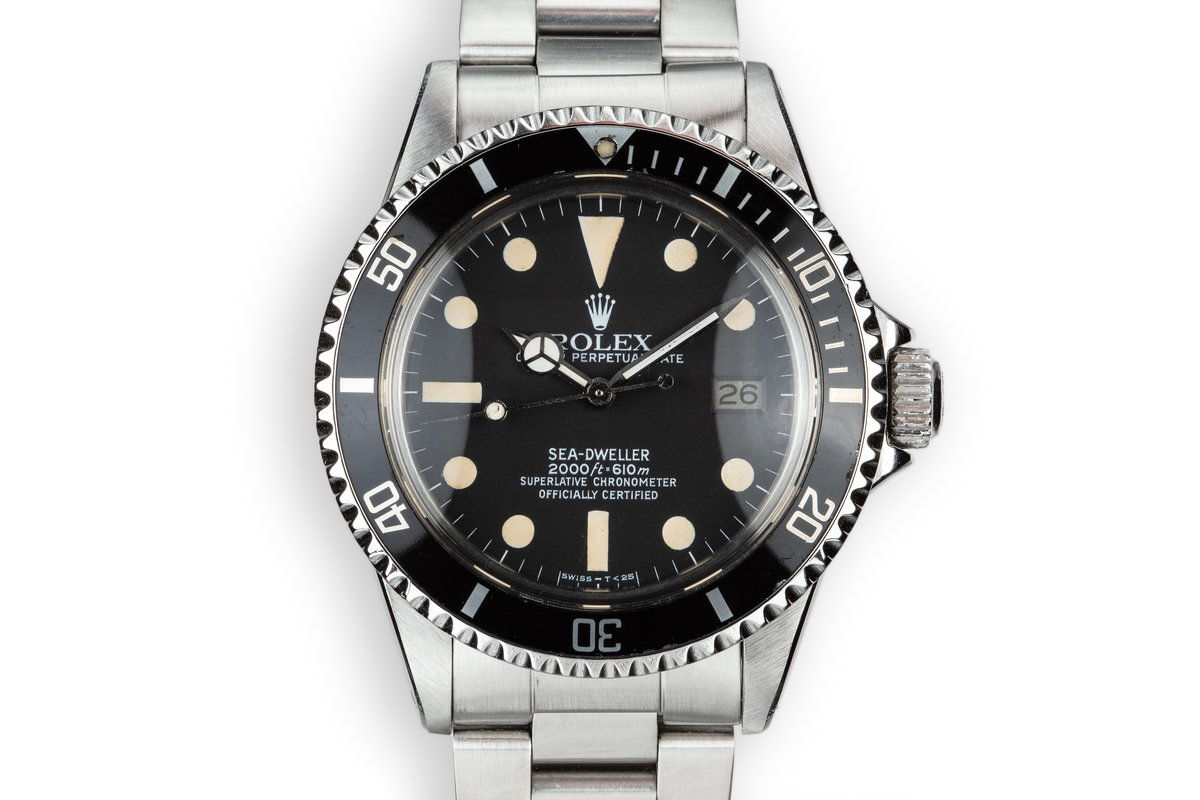 1980 Rolex Sea-Dweller 1665 photo, #0