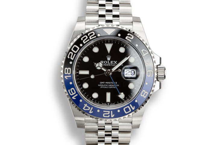 "2019 Rolex GMT-Master II 126710BLNR ""Batman"" with Box and Papers photo"