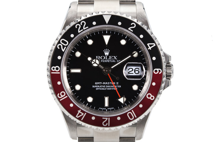 2005 Rolex GMT Master II 16710 with Box and Papers photo