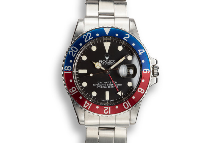 "1978 Rolex GMT-Master 1675 ""Pepsi"" with Service Papers photo"