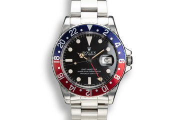1968 Rolex GMT-Master 1675 with Box and Papers photo