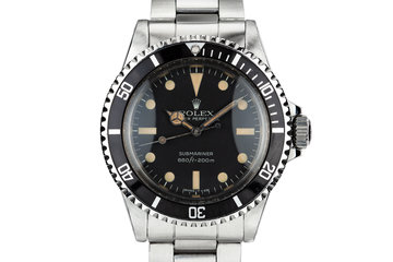 1980 Rolex Submariner 5513 with Mark 2 Maxi Dial photo