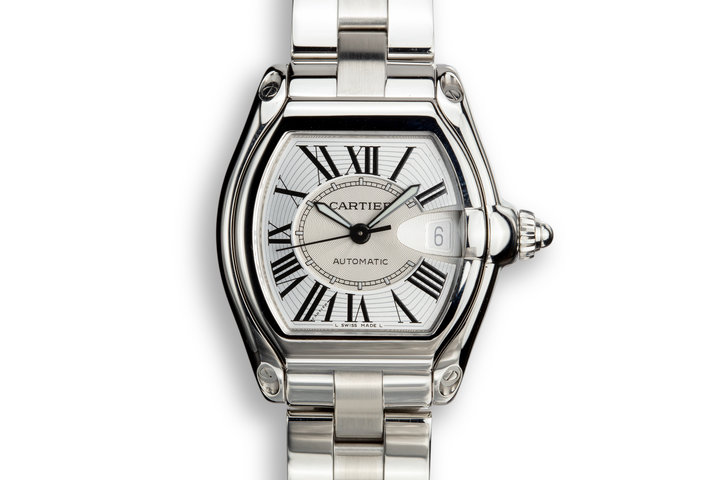 2006 Cartier Roadster W62032X6 with Box and Papers photo