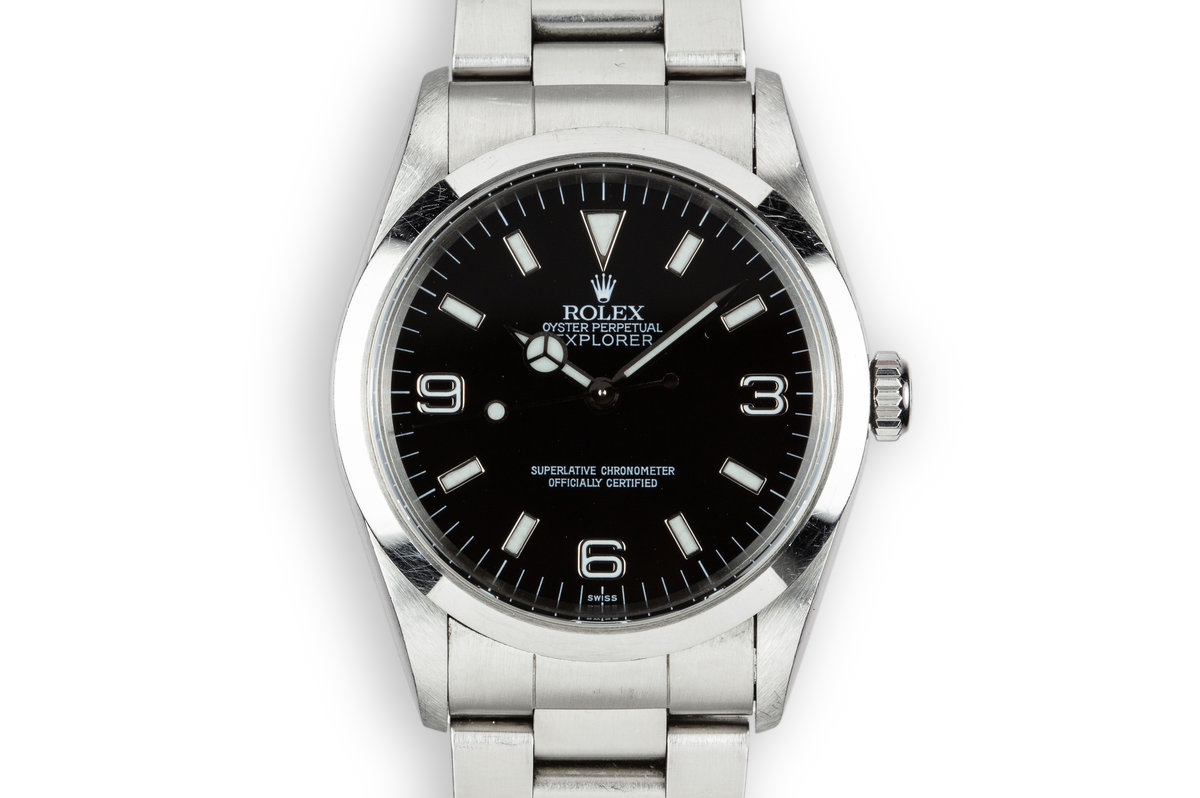 "1998 Rolex Explorer 14270 ""SWISS Only"" Dial photo, #0"