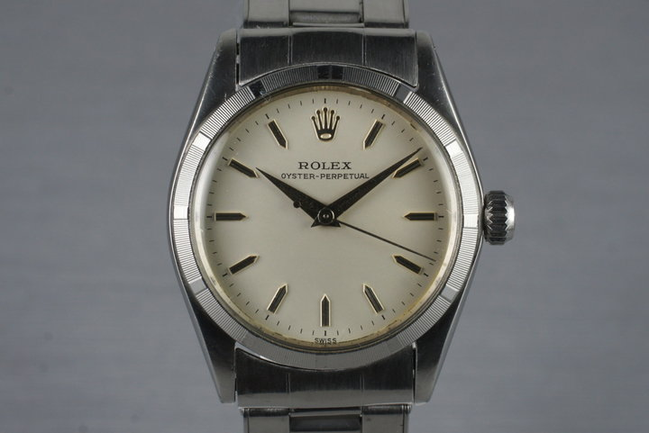 1961 Rolex MidSize Oyster Perpetual 6549 photo