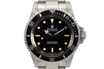 1988 Rolex Submariner 5513 photo