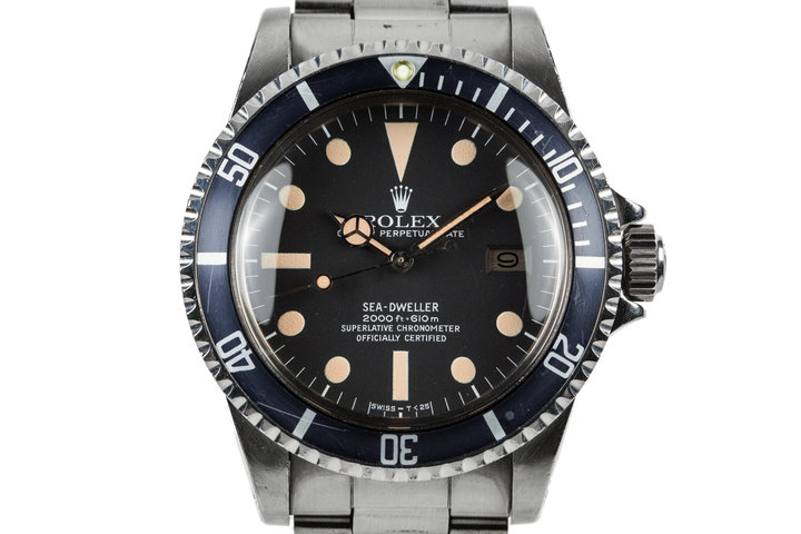 1979 Rolex Sea_Dweller 1665 with MK I Dial and Box photo
