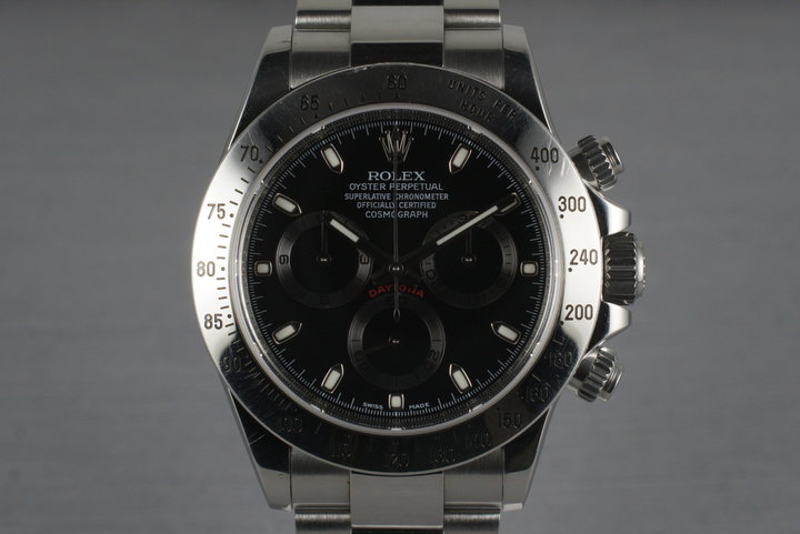 2010 Rolex Daytona 116520 with Box and Papers photo