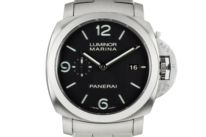 2014 Panerai Luminor Marina PAM328 with Box and Papers photo