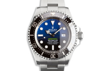 2018 Rolex James Cameron DeepSea Sea-Dweller 126660 with Box & Card photo