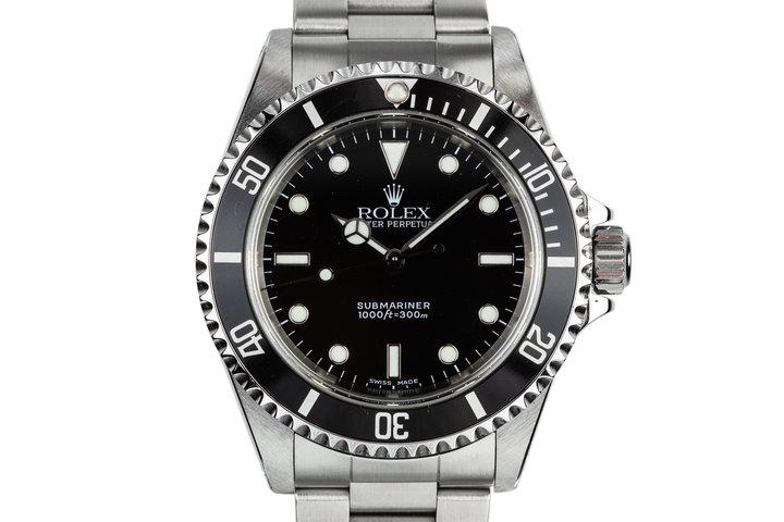 2001 Rolex Submariner 14060 photo