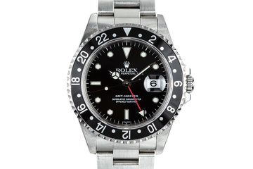 1999 Rolex GMT-Master 16700 SWISS Only Dial with Box and Papers photo