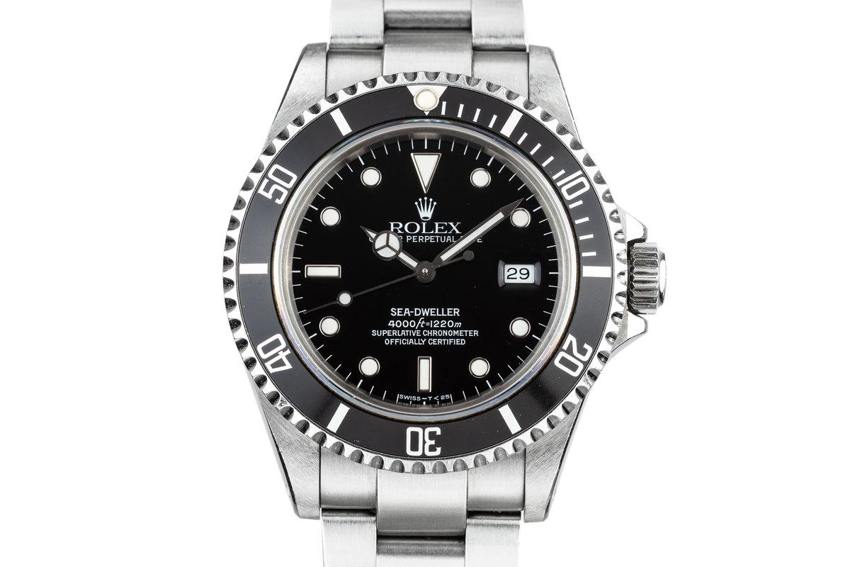 1990 Rolex Sea-Dweller 16600 photo, #0
