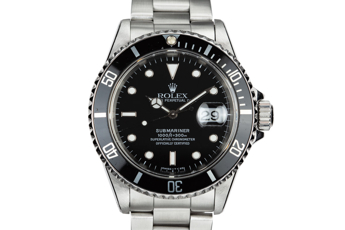 1995 Rolex Submariner 16610 photo, #0