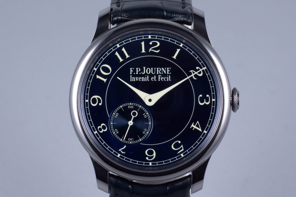 2014 F.P. Journe Chronometer Bleu with Box and Papers photo, #0
