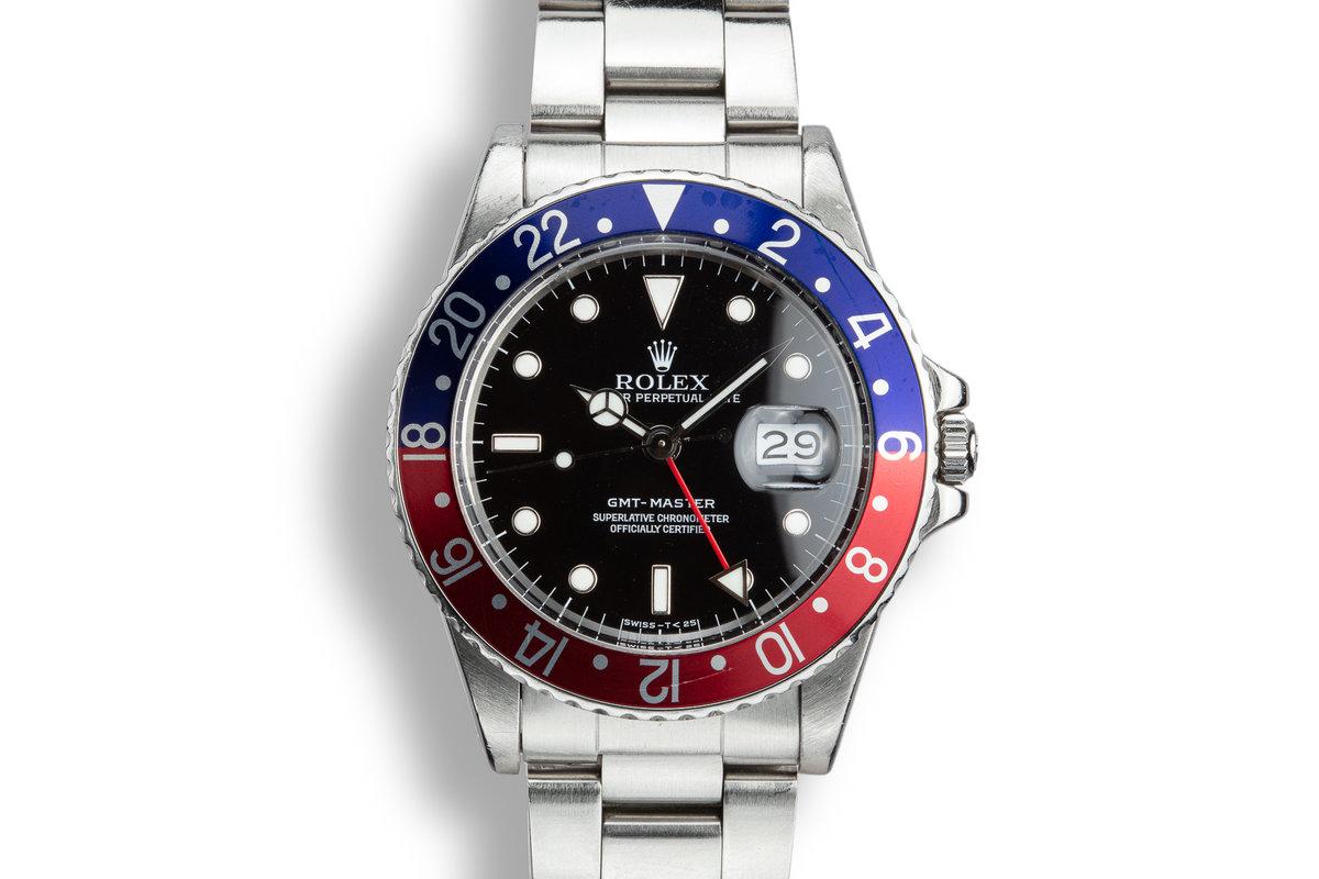"""1984 Rolex GMT-Master 16750 """"Pepsi"""" photo, #0"""