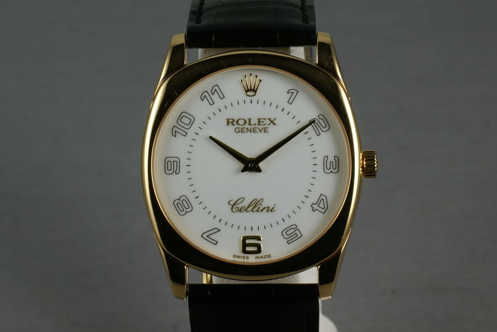 Rolex Cellini 18K YG Ref: 4233 photo