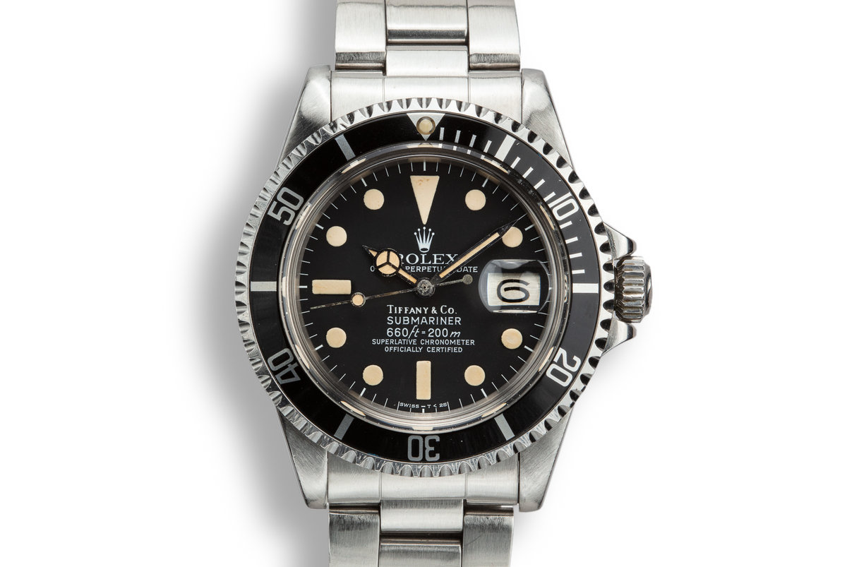 1978 Rolex Submariner 1680 with Tiffany and Co. Dial photo, #0
