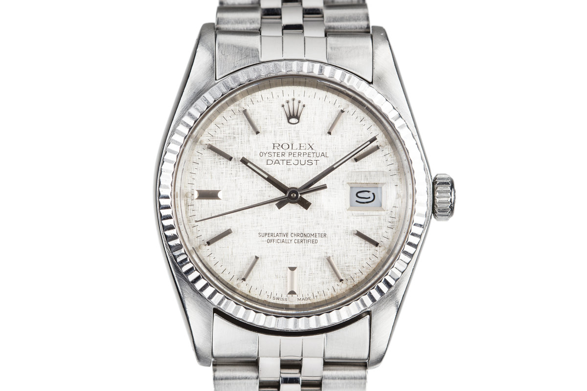 1983 Rolex DateJust 16014 with Linen Dial photo, #0