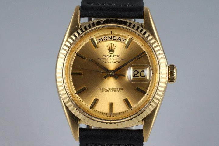 1965 Rolex YG Day-Date 1803 photo